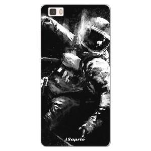 Silikonové pouzdro iSaprio (mléčně zakalené) Astronaut 02 na mobil Huawei P8 Lite