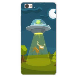 Silikonové pouzdro iSaprio (mléčně zakalené) Ufouni 01 na mobil Huawei P8 Lite