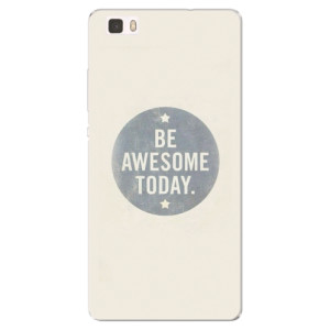 Silikonové pouzdro iSaprio (mléčně zakalené) Awesome 02 na mobil Huawei P8 Lite