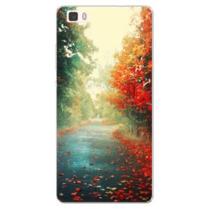 Silikonové pouzdro iSaprio (mléčně zakalené) Podzim 03 na mobil Huawei P8 Lite