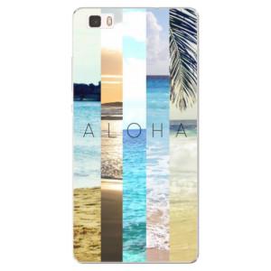 Silikonové pouzdro iSaprio (mléčně zakalené) Aloha 02 na mobil Huawei P8 Lite