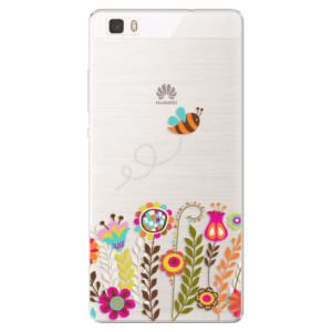 Silikonové pouzdro iSaprio (mléčně zakalené) Včelka Pája 01 na mobil Huawei P8 Lite