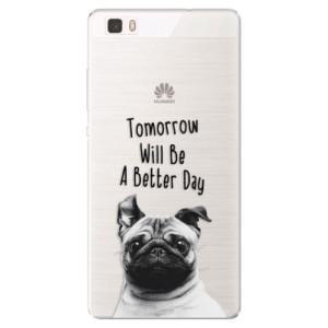 Silikonové pouzdro iSaprio (mléčně zakalené) Better Day 01 na mobil Huawei P8 Lite