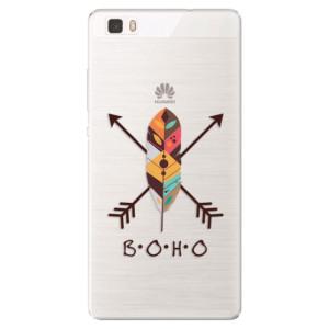 Silikonové pouzdro iSaprio (mléčně zakalené) BOHO na mobil Huawei P8 Lite