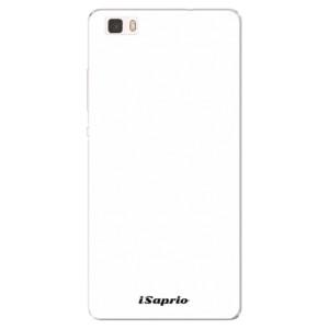Silikonové pouzdro iSaprio 4Pure bílé na mobil Huawei P8 Lite