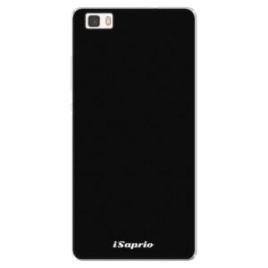 Silikonové pouzdro iSaprio 4Pure černé na mobil Huawei P8 Lite