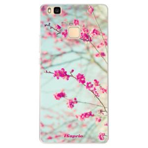Silikonové pouzdro iSaprio (mléčně zakalené) Blossom 01 na mobil Huawei P9 Lite