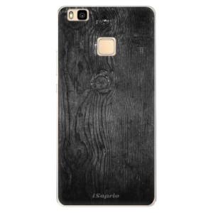 Silikonové pouzdro iSaprio (mléčně zakalené) Black Wood 13 na mobil Huawei P9 Lite