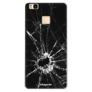 Silikonové pouzdro iSaprio (mléčně zakalené) Broken Glass 10 na mobil Huawei P9 Lite