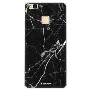 Silikonové pouzdro iSaprio (mléčně zakalené) Black Marble 18 na mobil Huawei P9 Lite