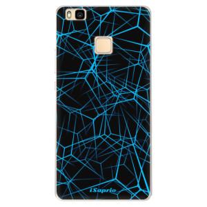 Silikonové pouzdro iSaprio (mléčně zakalené) Abstract Outlines 12 na mobil Huawei P9 Lite