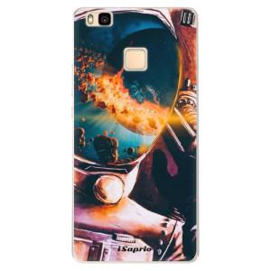 Silikonové pouzdro iSaprio (mléčně zakalené) Astronaut 01 na mobil Huawei P9 Lite