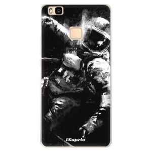 Silikonové pouzdro iSaprio (mléčně zakalené) Astronaut 02 na mobil Huawei P9 Lite