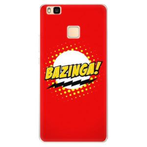 Silikonové pouzdro iSaprio (mléčně zakalené) Bazinga 01 na mobil Huawei P9 Lite