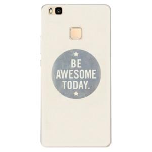 Silikonové pouzdro iSaprio (mléčně zakalené) Awesome 02 na mobil Huawei P9 Lite