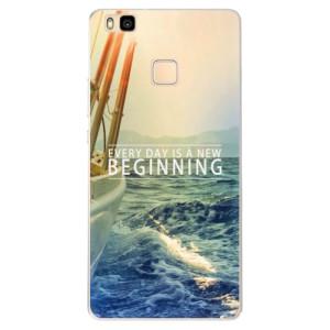 Silikonové pouzdro iSaprio (mléčně zakalené) Beginning na mobil Huawei P9 Lite