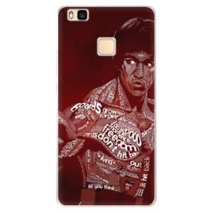 Silikonové pouzdro iSaprio (mléčně zakalené) Bruce Lee na mobil Huawei P9 Lite
