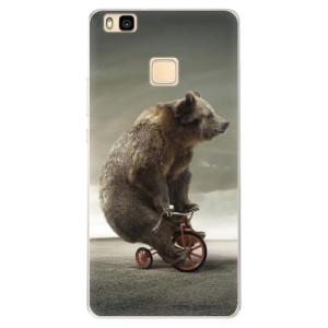 Silikonové pouzdro iSaprio (mléčně zakalené) Medvěd 01 na mobil Huawei P9 Lite