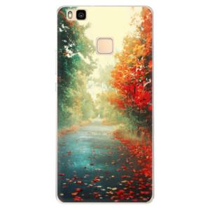 Silikonové pouzdro iSaprio (mléčně zakalené) Podzim 03 na mobil Huawei P9 Lite