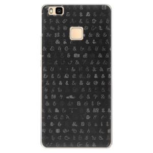 Silikonové pouzdro iSaprio (mléčně zakalené) Ampersand 01 na mobil Huawei P9 Lite