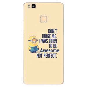 Silikonové pouzdro iSaprio (mléčně zakalené) Be Awesome na mobil Huawei P9 Lite