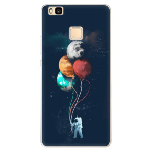 Silikonové pouzdro iSaprio (mléčně zakalené) Balónky 02 na mobil Huawei P9 Lite