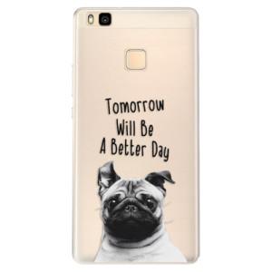 Silikonové pouzdro iSaprio (mléčně zakalené) Better Day 01 na mobil Huawei P9 Lite