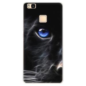 Silikonové pouzdro iSaprio (mléčně zakalené) Black Puma na mobil Huawei P9 Lite