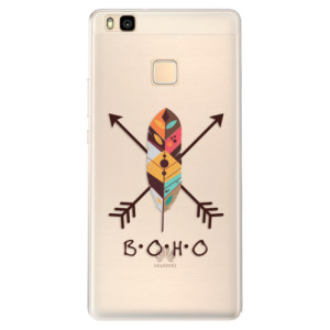 Silikonové pouzdro iSaprio (mléčně zakalené) BOHO na mobil Huawei P9 Lite
