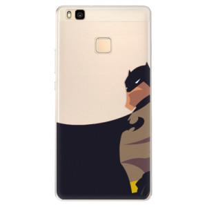 Silikonové pouzdro iSaprio (mléčně zakalené) BaT Komiks na mobil Huawei P9 Lite