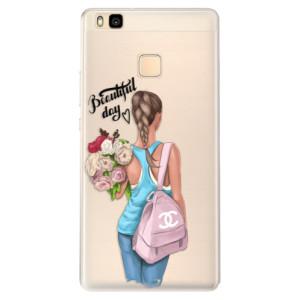 Silikonové pouzdro iSaprio (mléčně zakalené) Beautiful Day na mobil Huawei P9 Lite