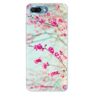 Silikonové pouzdro iSaprio (mléčně zakalené) Blossom 01 na mobil Honor 10