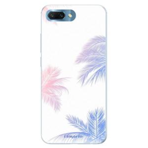 Silikonové pouzdro iSaprio (mléčně zakalené) Palmy 10 na mobil Honor 10