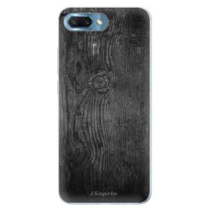 Silikonové pouzdro iSaprio (mléčně zakalené) Black Wood 13 na mobil Honor 10