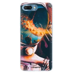 Silikonové pouzdro iSaprio (mléčně zakalené) Astronaut 01 na mobil Honor 10