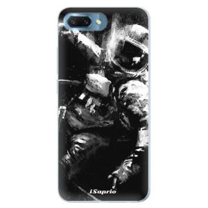 Silikonové pouzdro iSaprio (mléčně zakalené) Astronaut 02 na mobil Honor 10