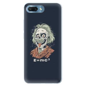 Silikonové pouzdro iSaprio (mléčně zakalené) Einstein 01 na mobil Honor 10