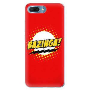 Silikonové pouzdro iSaprio (mléčně zakalené) Bazinga 01 na mobil Honor 10