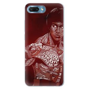 Silikonové pouzdro iSaprio (mléčně zakalené) Bruce Lee na mobil Honor 10