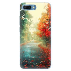 Silikonové pouzdro iSaprio (mléčně zakalené) Podzim 03 na mobil Honor 10