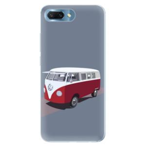 Silikonové pouzdro iSaprio (mléčně zakalené) VW Bus na mobil Honor 10