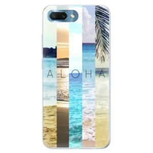 Silikonové pouzdro iSaprio (mléčně zakalené) Aloha 02 na mobil Honor 10