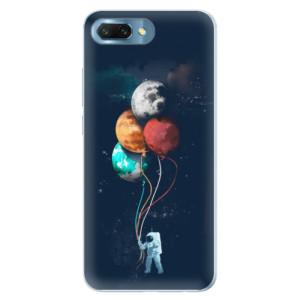 Silikonové pouzdro iSaprio (mléčně zakalené) Balónky 02 na mobil Honor 10