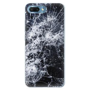 Silikonové pouzdro iSaprio (mléčně zakalené) Praskliny na mobil Honor 10