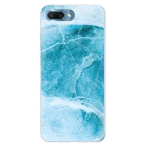 Silikonové pouzdro iSaprio (mléčně zakalené) Blue Marble na mobil Honor 10