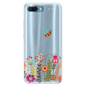 Silikonové pouzdro iSaprio (mléčně zakalené) Včelka Pája 01 na mobil Honor 10