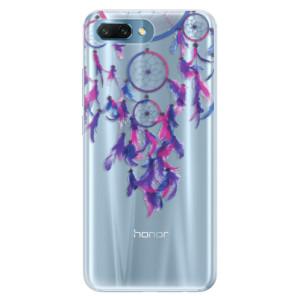 Silikonové pouzdro iSaprio (mléčně zakalené) Lapač snů 01 na mobil Honor 10