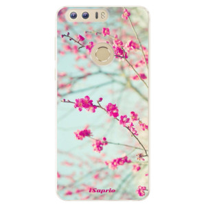 Silikonové pouzdro iSaprio (mléčně zakalené) Blossom 01 na mobil Honor 8