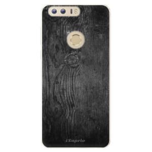 Silikonové pouzdro iSaprio (mléčně zakalené) Black Wood 13 na mobil Honor 8