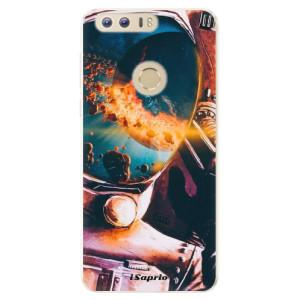 Silikonové pouzdro iSaprio (mléčně zakalené) Astronaut 01 na mobil Honor 8